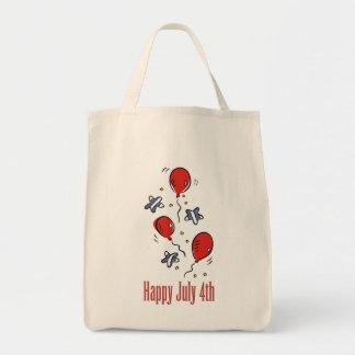 Happy July 4th Canvas Bag