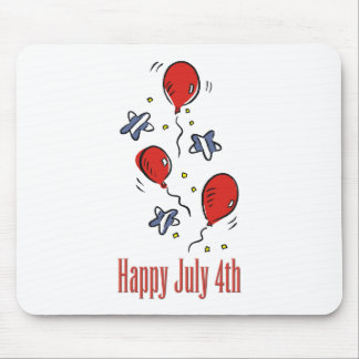 Happy July 4th Mouse Pad