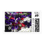 Happy July 4th Postage Stamp