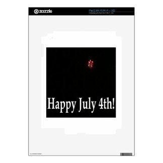 Happy July 4th iPad 2 Skin