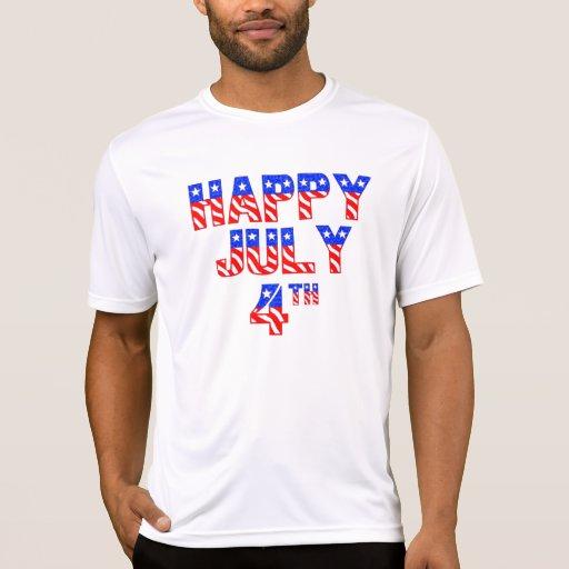 Happy July 4th Tee Shirt