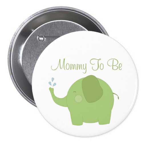 happy jungle baby shower mommy to be button zazzle