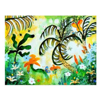 Happy Jungle. Postcard