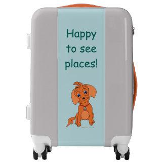 "Happy Juul & Friends suitcase ""Happy"""