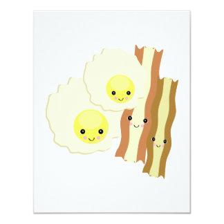 happy kawaii  breakfast card