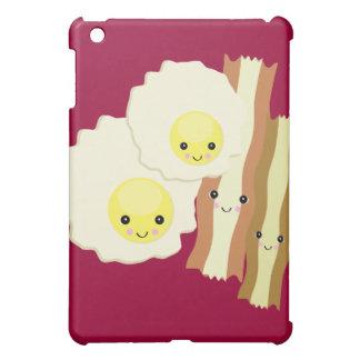 happy kawaii  breakfast iPad mini cover