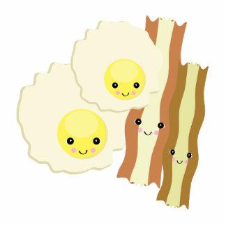happy kawaii  breakfast photo cutout