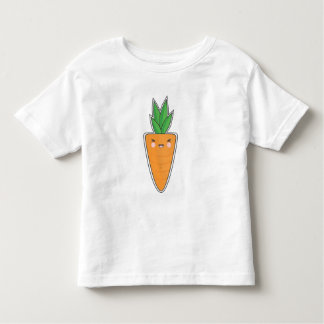 Happy Kawaii Carrot Toddler T-shirt