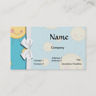 Kawaii happy business cards templates zazzle happy kawaii sunny suns pattern business card colourmoves