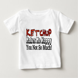 Happy Ketchup Baby T-Shirt
