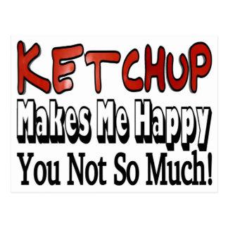 Happy Ketchup Postcard