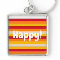 happy key chain color lines
