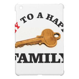 happy key family iPad mini cover