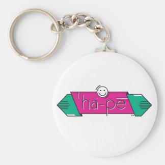 happy keychain