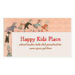 happy kids business card standard business cards
