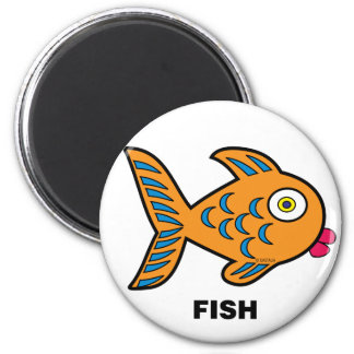 Happy Kids Fish Magnet