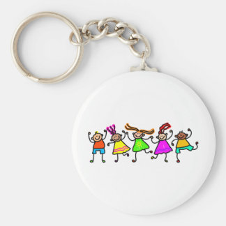 Happy Kids Keychain
