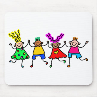 Happy Kids Mouse Pad