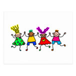 Happy Kids Postcards
