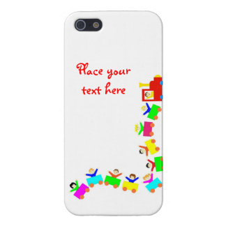 Happy Kids Train iPhone SE/5/5s Case