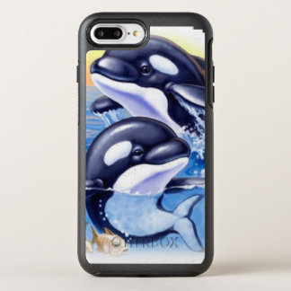 Happy Killer Whales OtterBox Symmetry iPhone 8 Plus/7 Plus Case