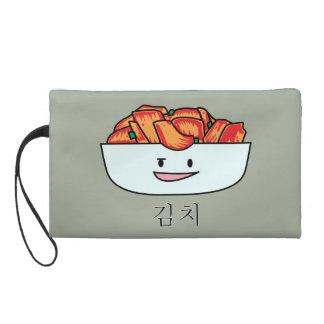 Happy Kimchi Bowl - Happy Foods Designs Wristlet Purse