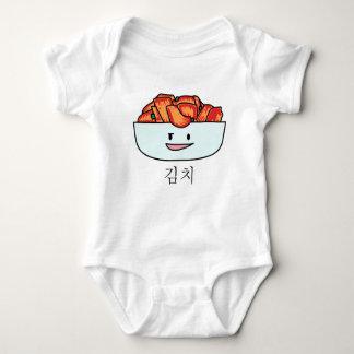 Happy Kimchi Kimchee Bowl - Happy Foods Designs Baby Bodysuit