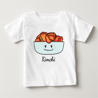 Happy Kimchi Kimchee Bowl - Happy Foods Designs Baby T-Shirt