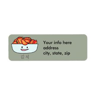 Happy Kimchi Kimchee Bowl - Happy Foods Designs Label