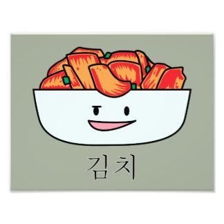 Happy Kimchi Kimchee Bowl - Happy Foods Designs Photo Print