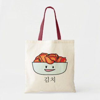 Happy Kimchi Kimchee Bowl - Happy Foods Designs Tote Bag