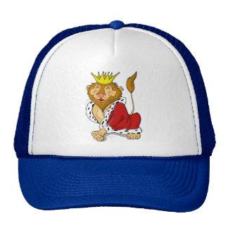 Happy King Lion Cartoon Cap Hat