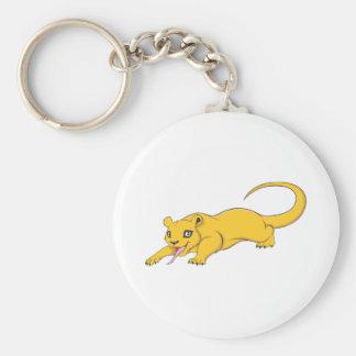 Happy Kinkajou Basic Round Button Keychain