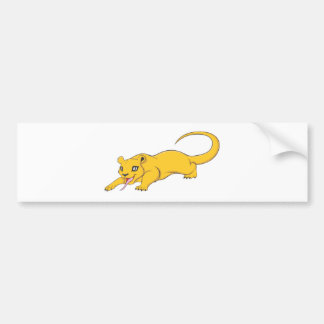 Happy Kinkajou Car Bumper Sticker