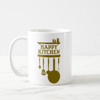Happy kitchen coffee mug