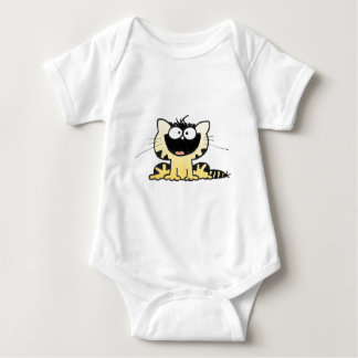 Happy-Kitty Baby Bodysuit