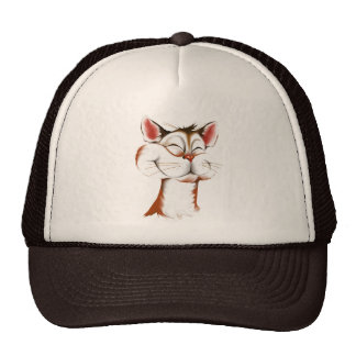 Happy Kitty Face Hat