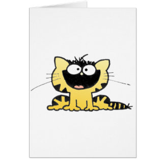 Happy-Kitty Greeting Card