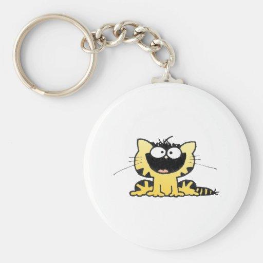 Happy-Kitty Key Chain