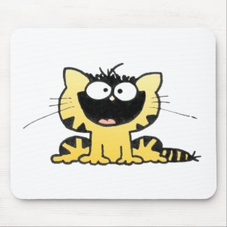 Happy-Kitty Mouse Pad