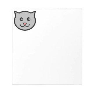 Happy Kitty Memo Note Pad