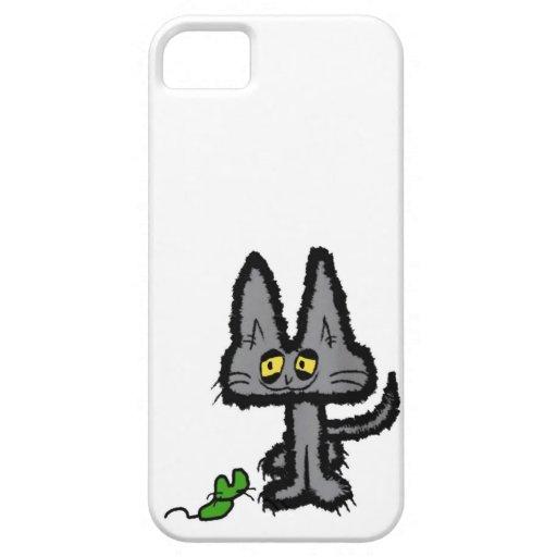 Happy Kitty Smiles iPhone 5 Cases