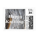 Happy Knitting! Stamps