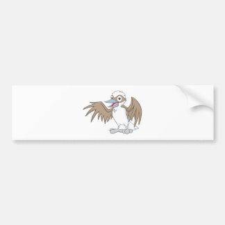 Happy Kookaburra Illustration Bumper Sticker