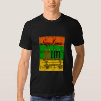 Happy Kwanza Basic American T-Shirt
