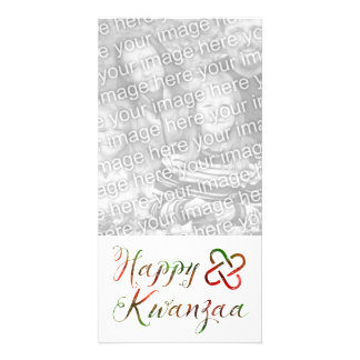 Happy Kwanzaa Bokeh Umoja Card