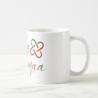 Happy Kwanzaa Bokeh Umoja Coffee Mug