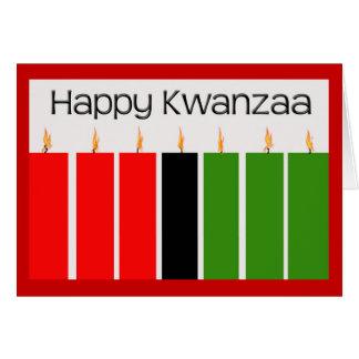 Happy Kwanzaa Card