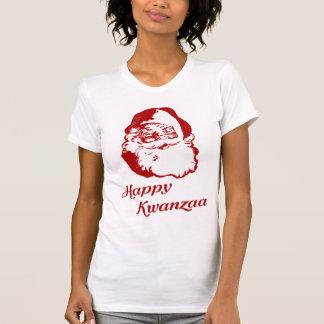 Happy Kwanzaa Christmas Santa Claus Shirt
