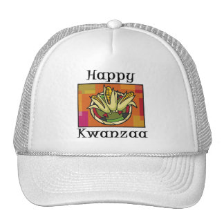 Happy Kwanzaa Corn Hat